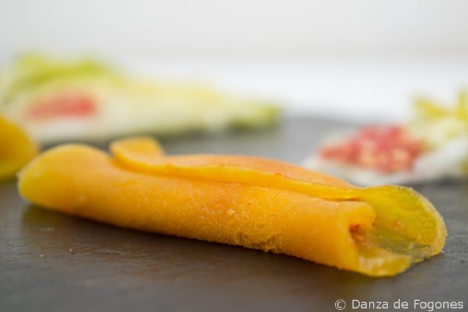 Veganiza al Chef: Clips de Cogollo con Mango