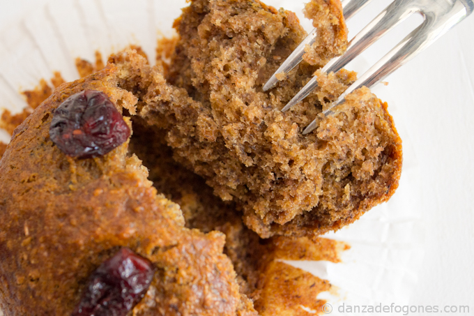 Muffins de espelta