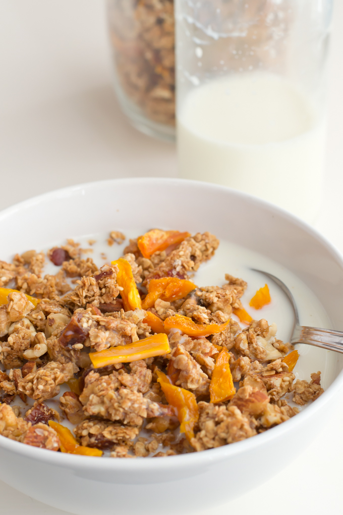 Granola-casera #vegan #healthy-danzadefogones.com