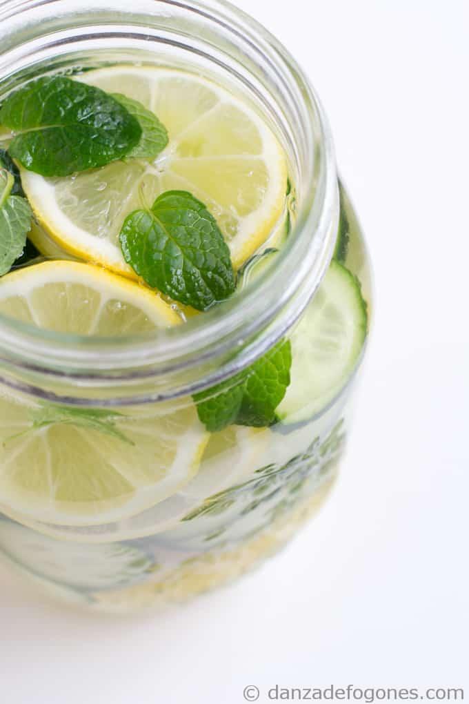 Pina limon y pepino para adelgazar