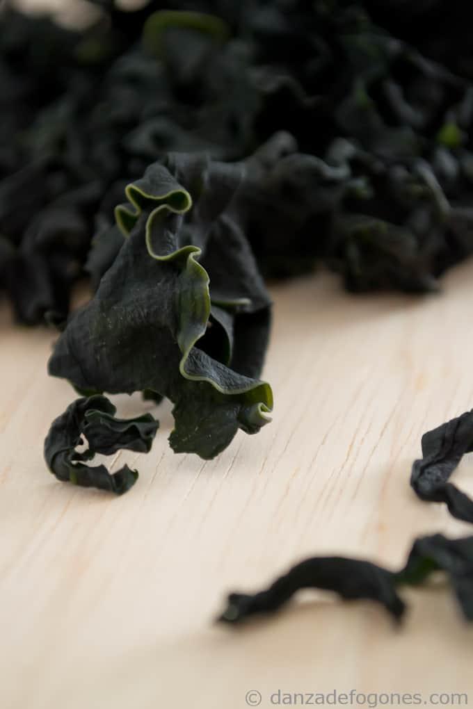 Alga wakame - danzadefogones.com