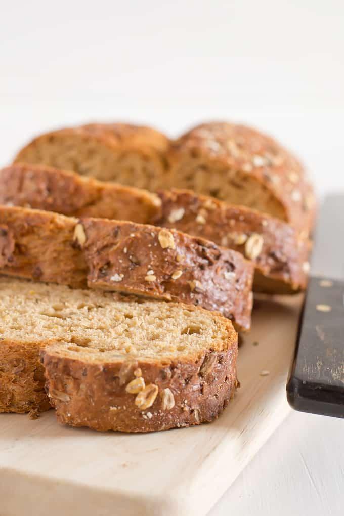 Bruschetta Bread | danzadefogones.com