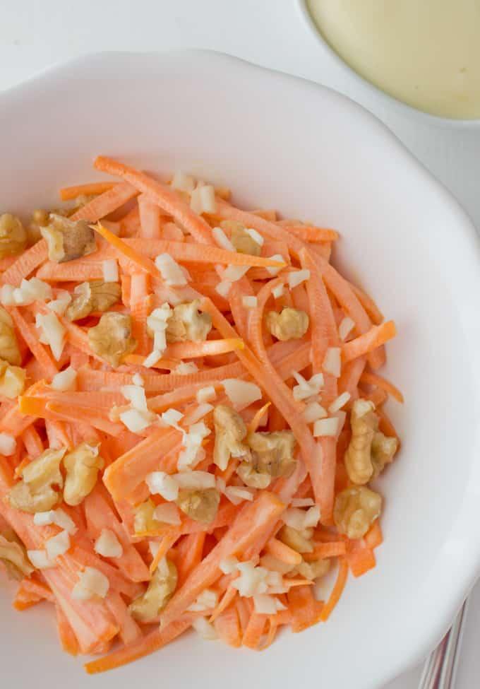 Ensalada De Zanahoria Danza De Fogones La zanahoria es una verdura dura, bianual y de clima frío, que crece por la raíz gruesa que produce en. ensalada de zanahoria danza de fogones