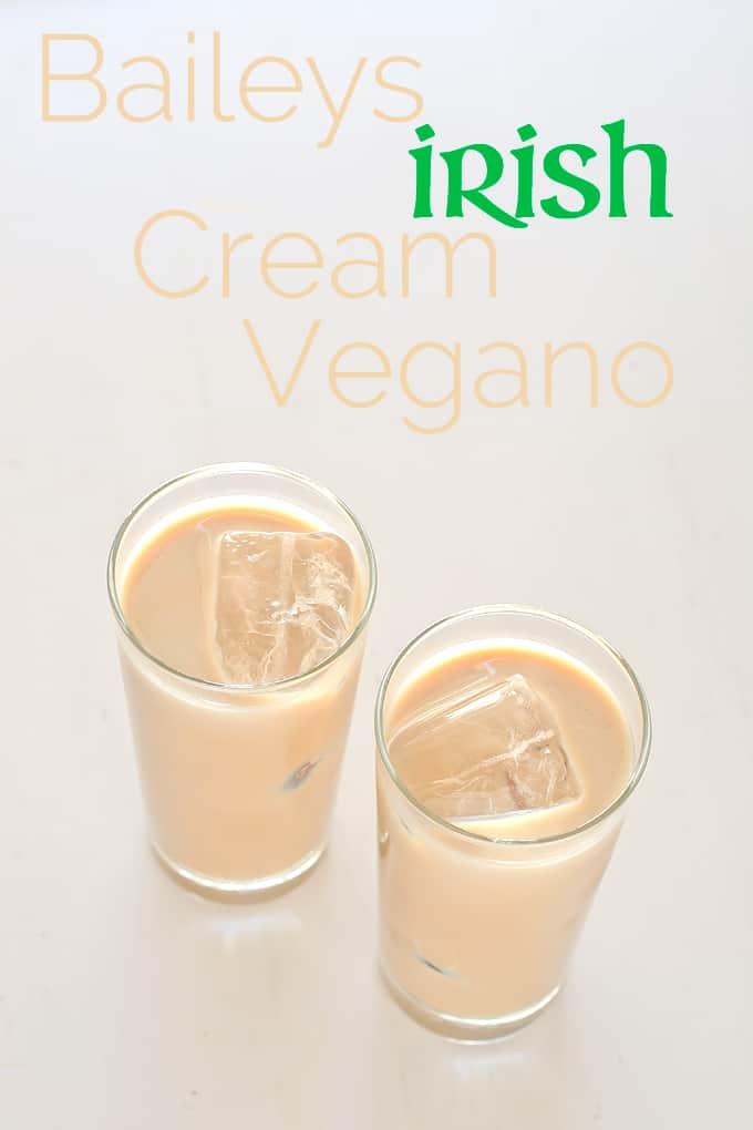Baileys Irish Cream vegano | danzadefogones.com #vegan #baileys