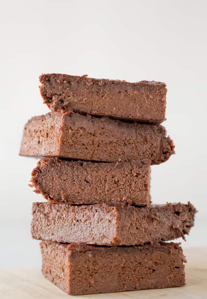 Como hacer Brownie Vegano Sin Gluten | danzadefogones.com