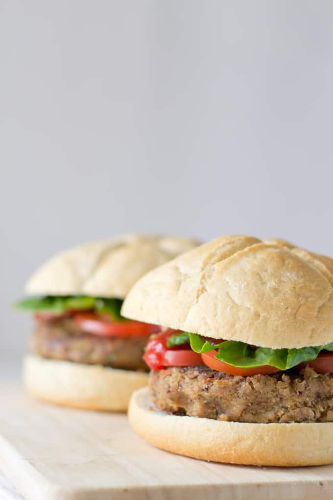 Hamburguesa Vegetariana | danzadefogones.com #vegan