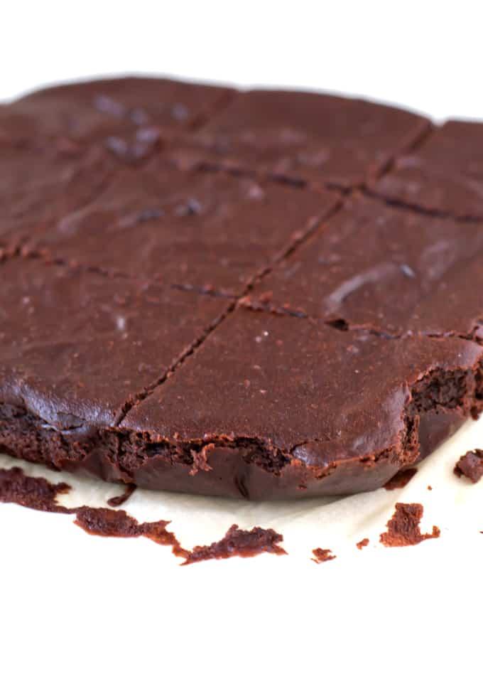 Receta de Brownie Vegano Sin Gluten | danzadefogones.com