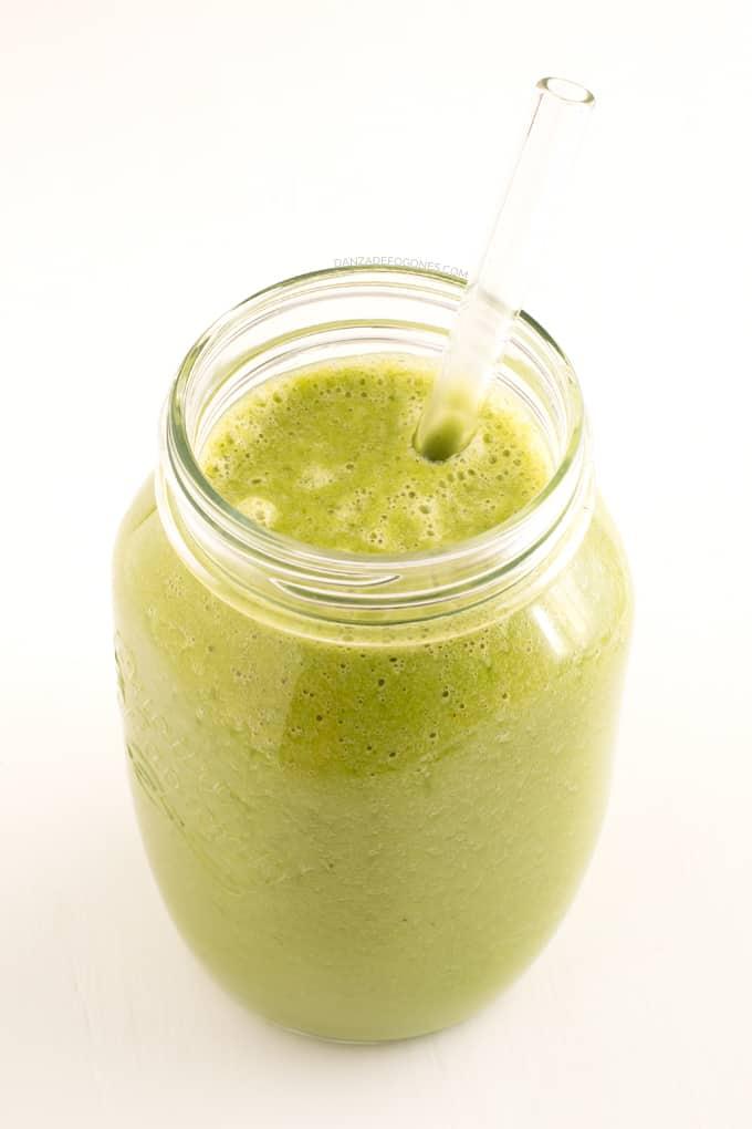 Batido verde contra la celulitis - danzadefogones.com