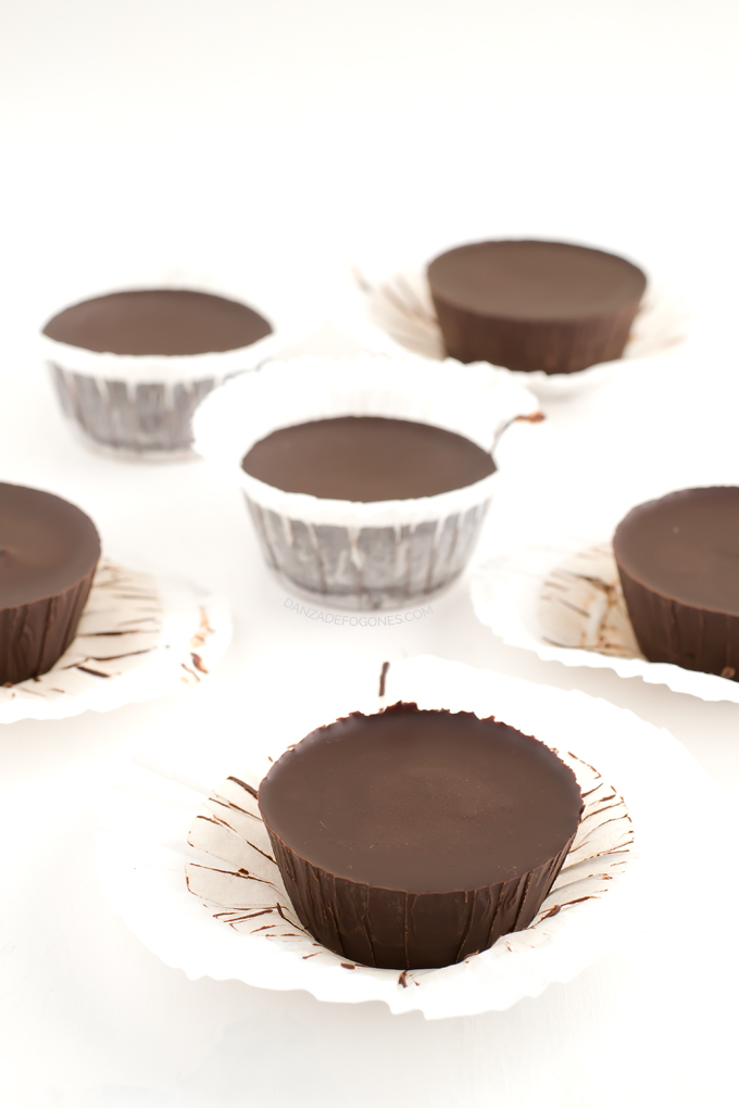 Chocolate cups - danzadefogones.com
