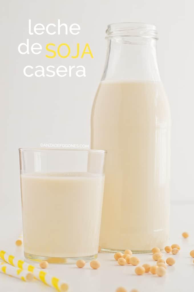 Porque la leche de soja me produce gases
