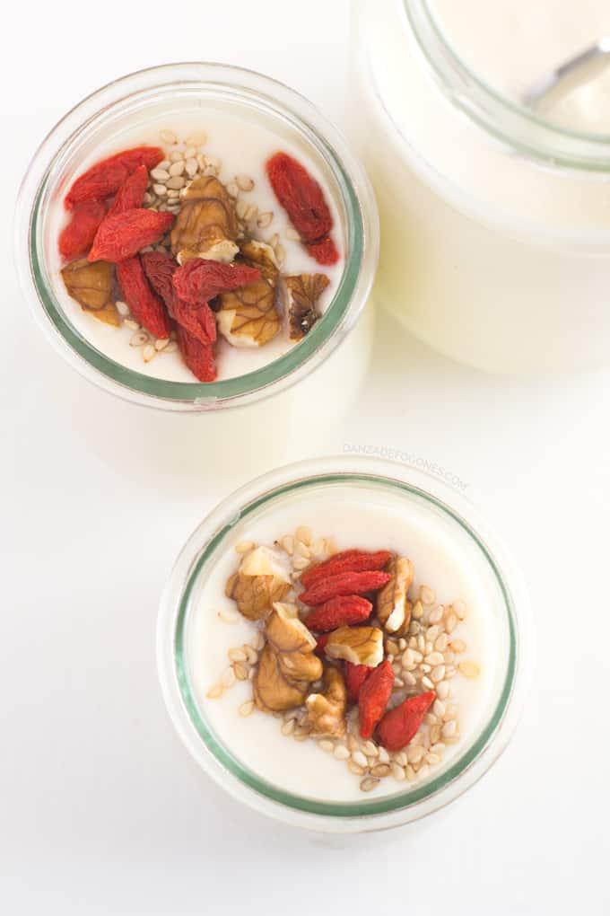 Yogurt de soja - danzadefogones.com
