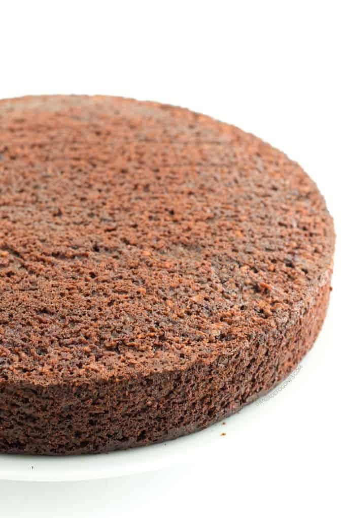 Bizcocho de chocolate vegano - danzadefogones.com