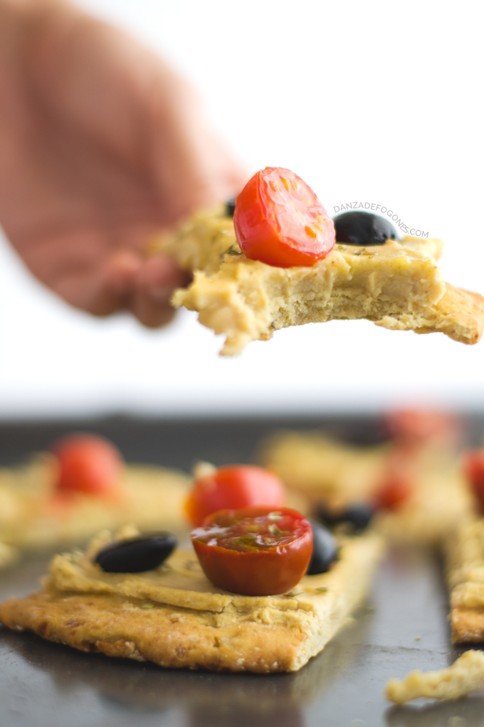 Como hacer Pizza vegana y sin gluten | danzadefogones.com