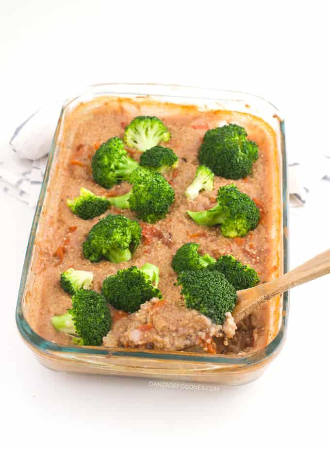 Quinoa con verduras al horno - danzadefogones.com