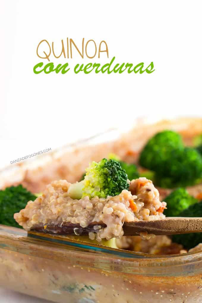 Quinoa con verduras - danzadefogones.com