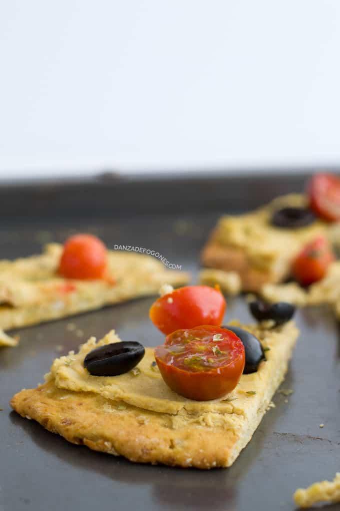 Receta de Pizza (vegana y sin gluten) | danzadefogones.com