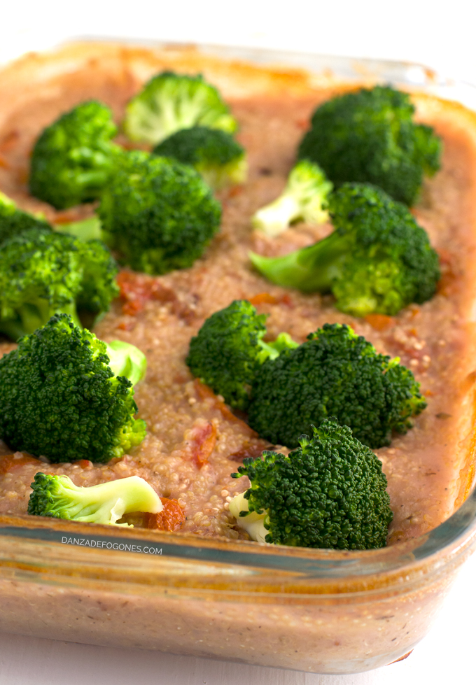 Receta de quinoa con verduras - danzadefogones.com