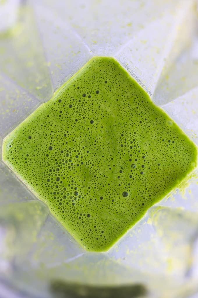 Salsa Verde de Coco para Pasta