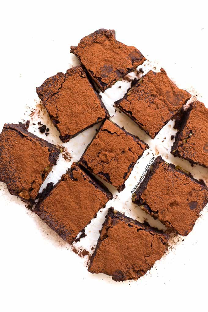 Brownie sin gluten | danzadefogones.com