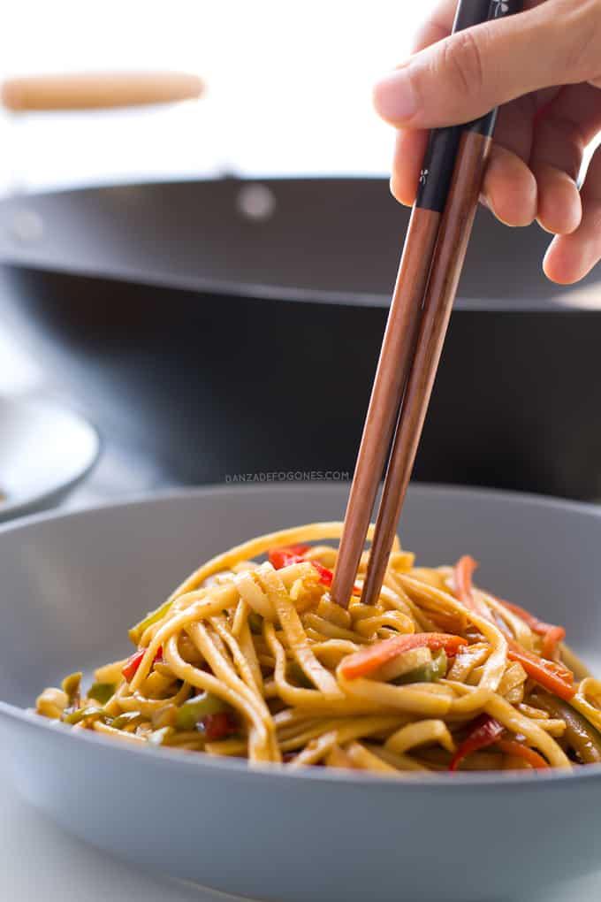 Noodles con verduras | danzadefogones.com-danzadefogones