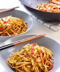 Noodles veganos con verduras | danzadefogones.com #danzadefogones