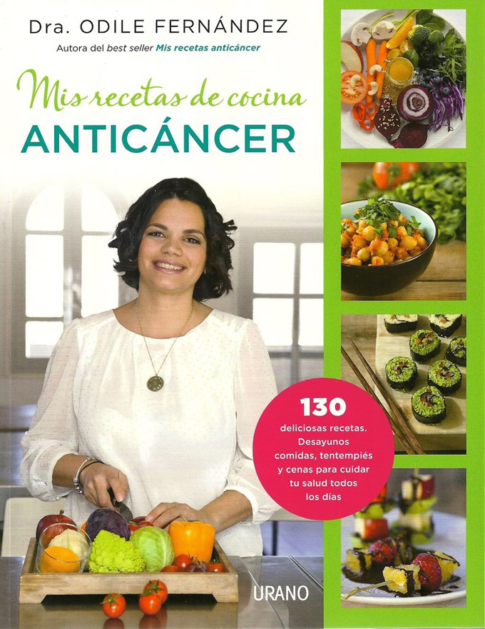 Libro mis recetas de cocina antic ncer danza de fogones for Cocina vegana gourmet