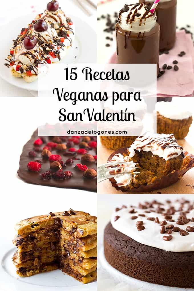 15 Recetas Veganas para San Valentin