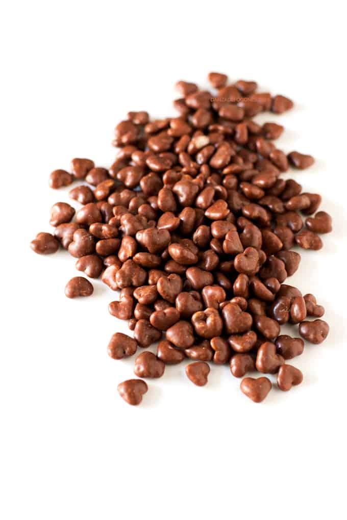 Corazones de Chocolate Veganos sin Gluten