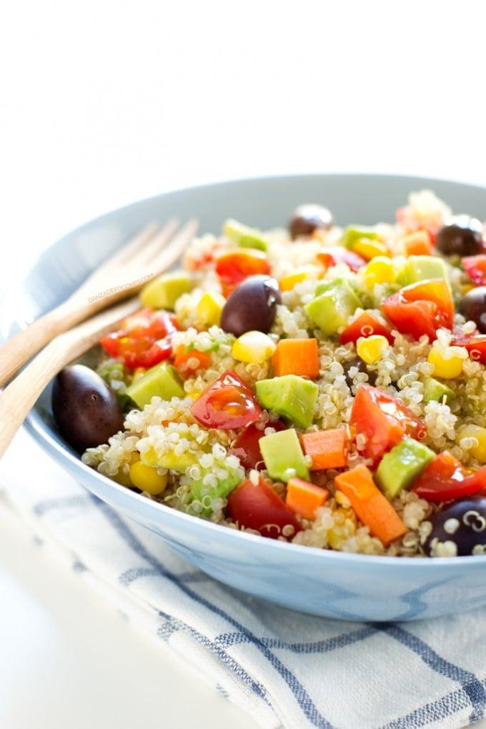 Recetas simples quinoa
