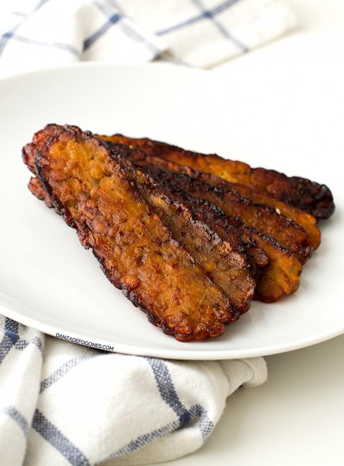Bacon de Tempeh