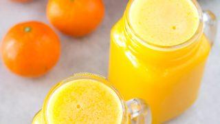 como hacer zumo de zanahoria sin extractor