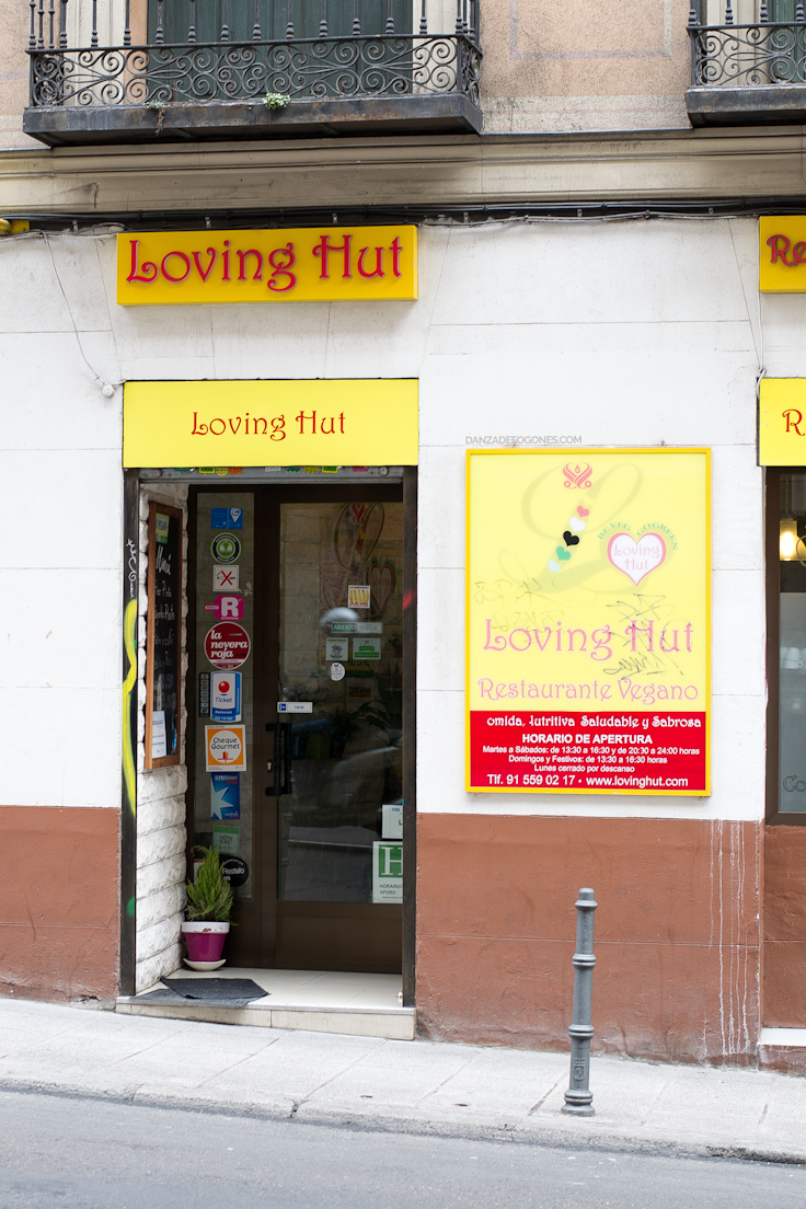 Loving Hut: Restaurante Vegano en Madrid (España)