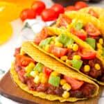 Tacos Veganos en 15 Minutos
