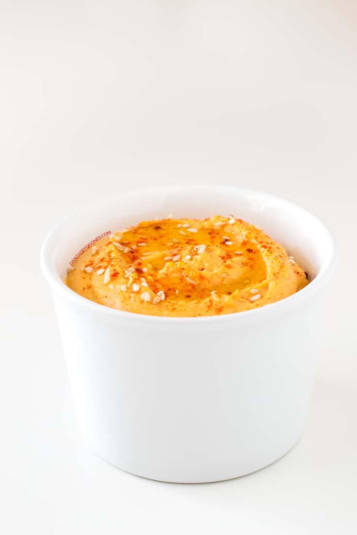 Hummus de Pimiento Rojo Asado