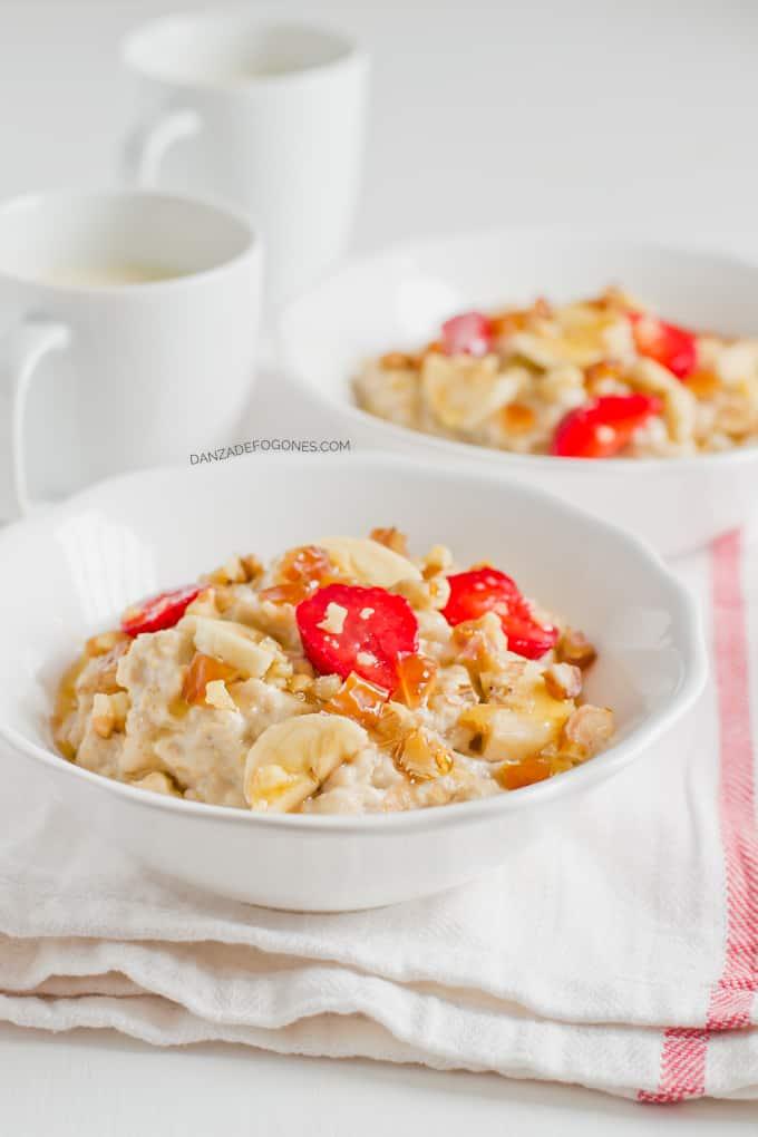 Oatmeal (gachas de avena)