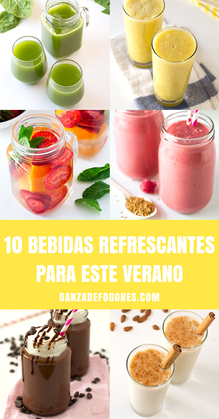 10 Bebidas Refrescantes Para Este Verano