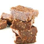 Brownies crudiveganos | danzadefogones.com #vegan #vegano