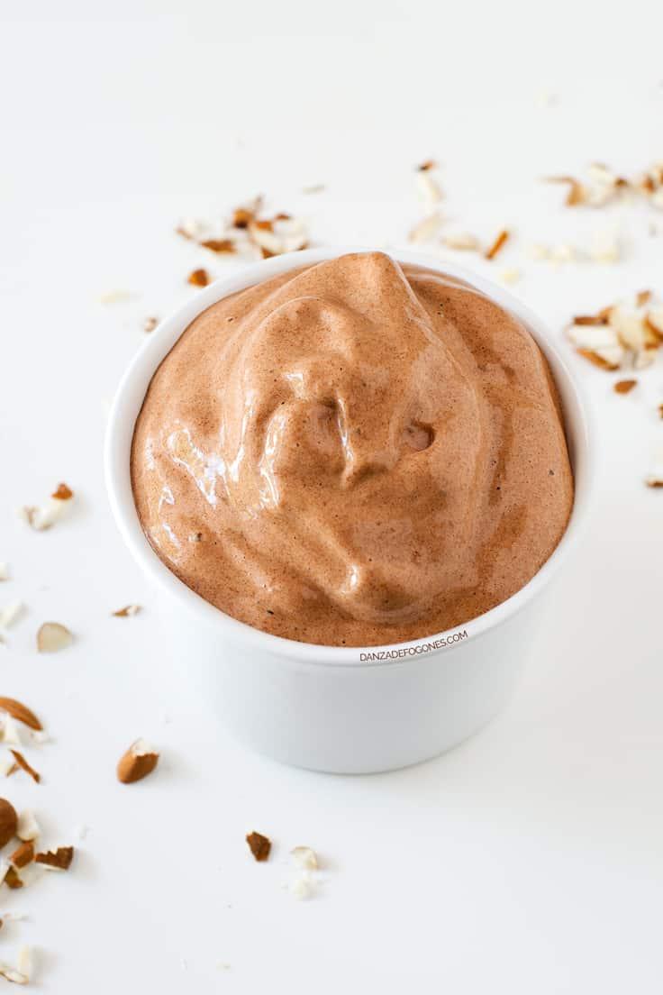 Helado de Chocolate y Plátano (2 Ingredientes)