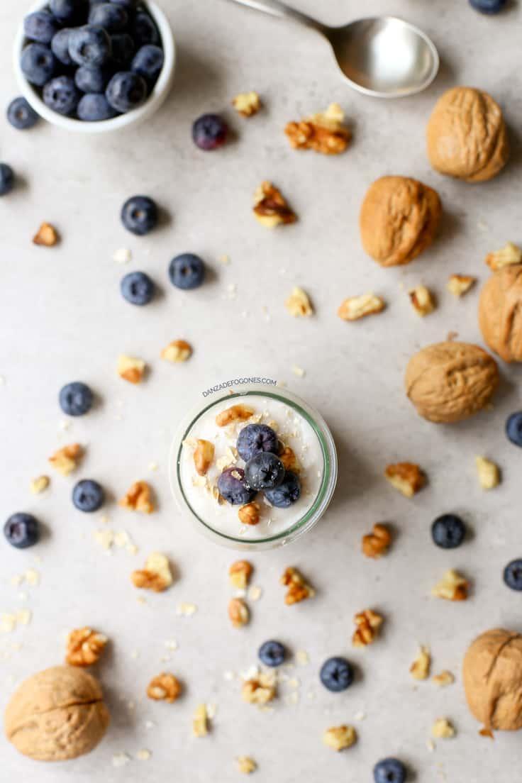Cómo hacer yogur vegano de coco | danzadefogones.com #vegano #vegan