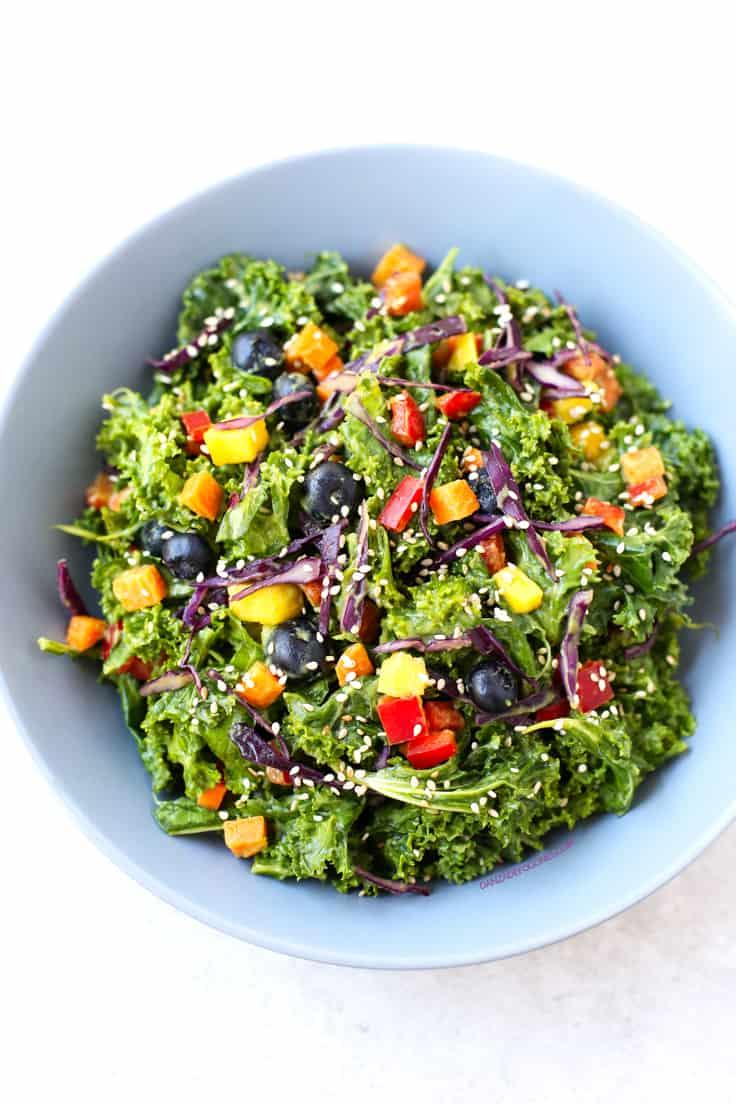 Ensalada de Kale | Danza de Fogones