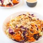 Receta de coleslaw vegana | danzadefogones.com #vegan #vegano