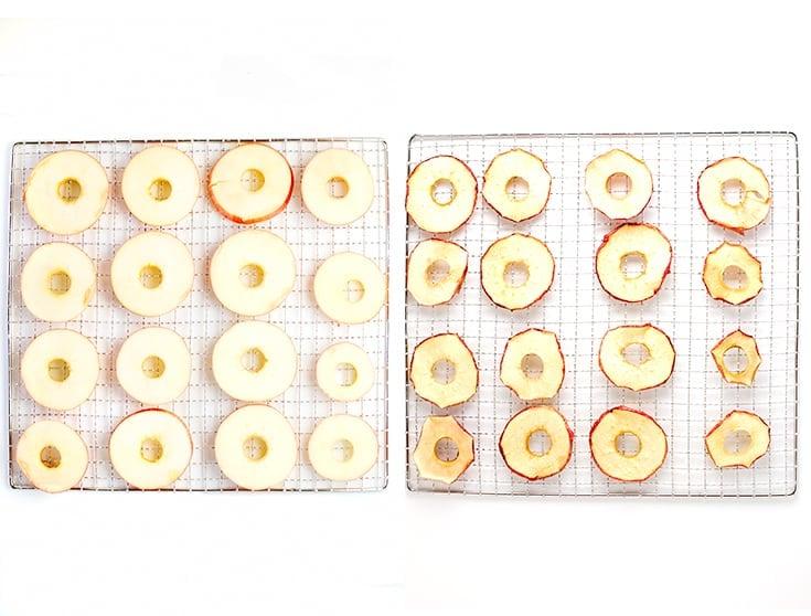 Cómo deshidratar manzana - Cómo deshidratar frutas con una deshidratadora. Las frutas deshidratadas son un snack estupendo y son perfectas para viajar.
