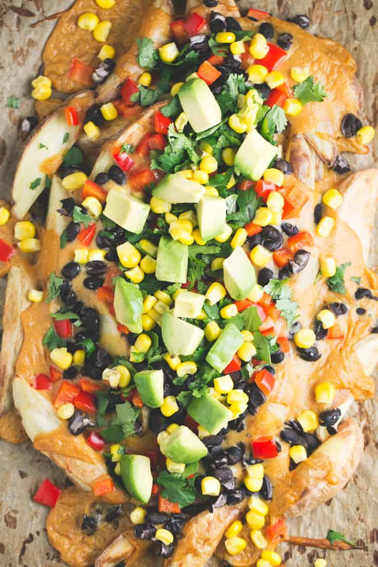 Nachos de patata - Los nachos de patata son una alternativa sana, barata y deliciosa a los nachos tradicionales que suelen estar llenos de aditivos e ingredientes refinados.