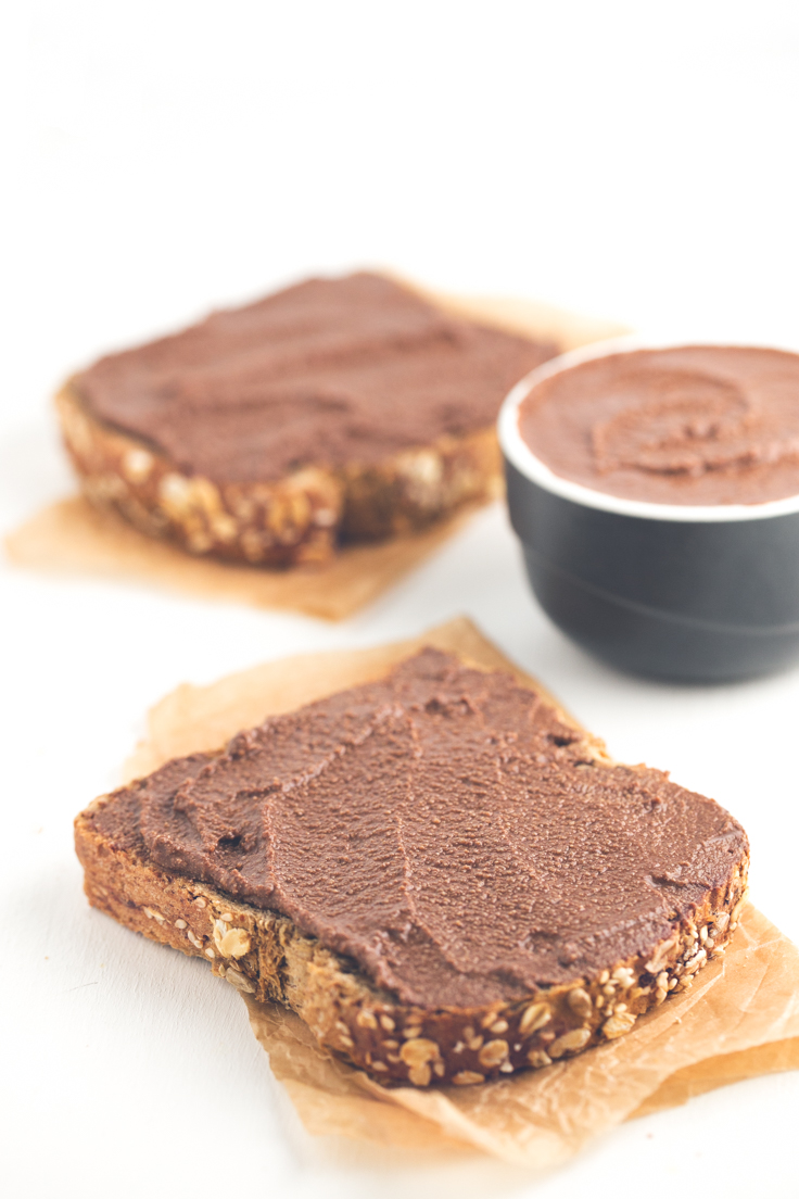 Crema de Chocolate Vegana Baja en Grasa