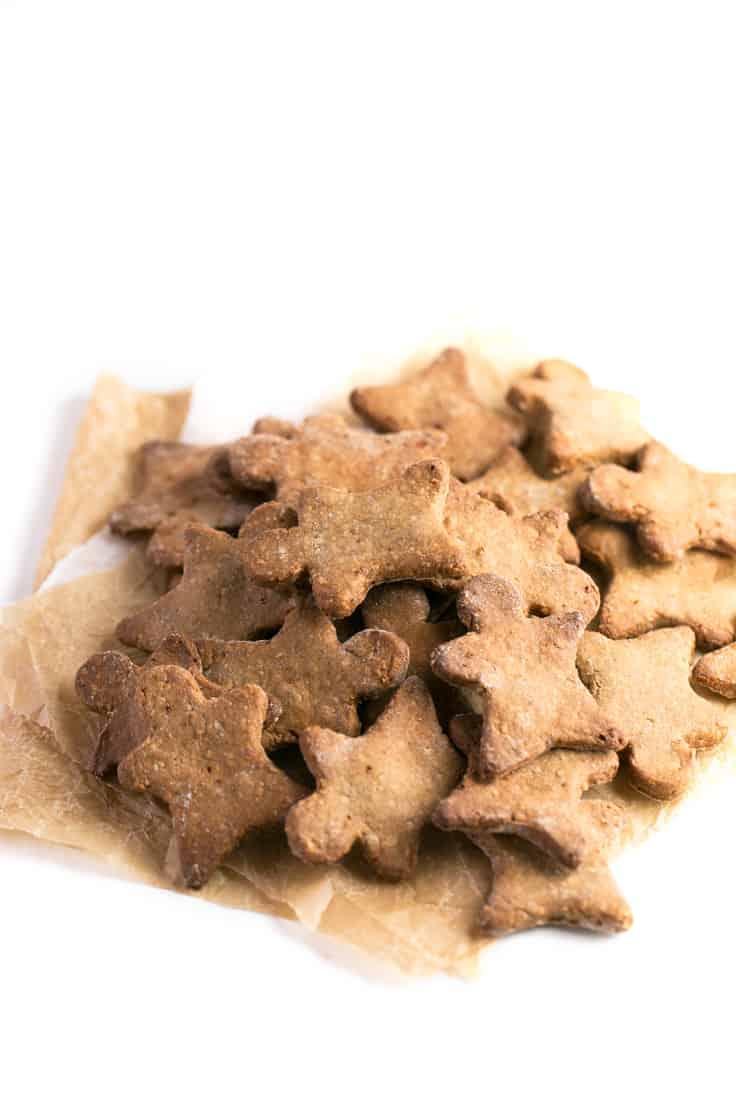 Galletas de jengibre veganas y sin gluten - Estas galletas de jengibre veganas y sin gluten son un dulce navideño muy saludable y fácil de preparar.