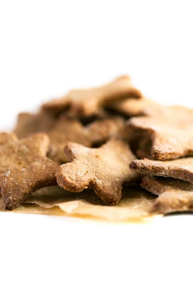 Galletas de jengibre veganas - Estas galletas de jengibre veganas y sin gluten son un dulce navideño muy saludable y fácil de preparar.