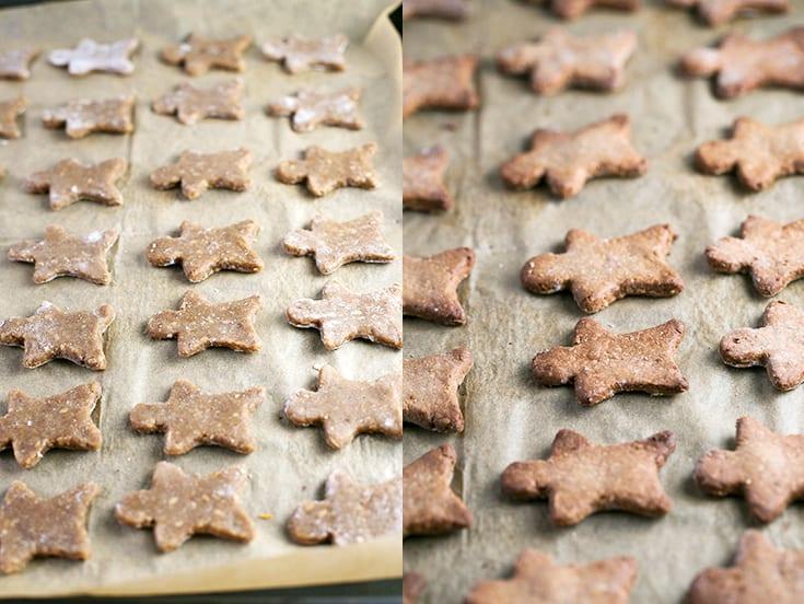 Receta de galletas de jengibre veganas y sin gluten - Estas galletas de jengibre veganas y sin gluten son un dulce navideño muy saludable y fácil de preparar.