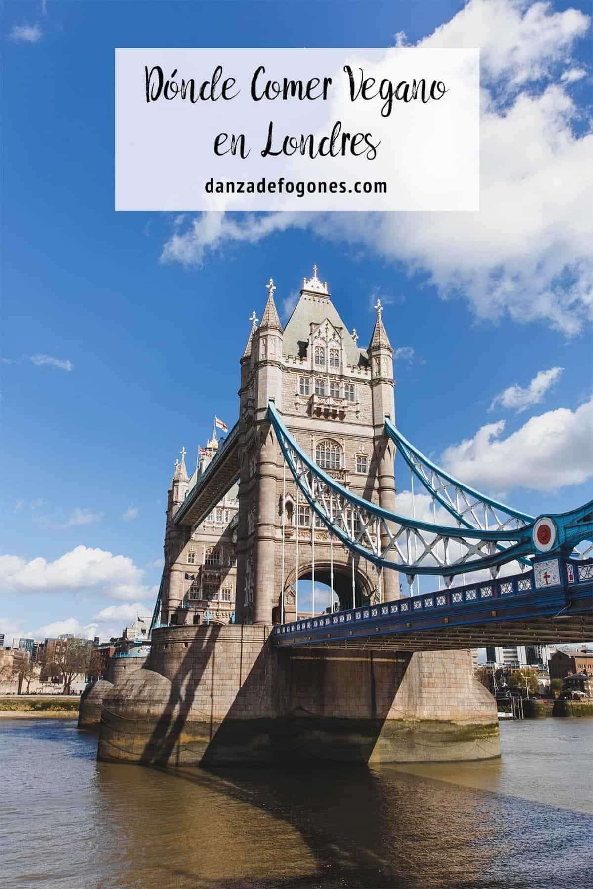 Dónde Comer Vegano en Londres
