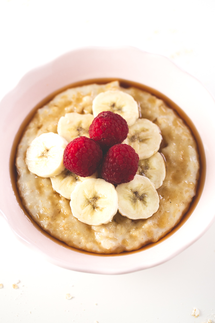 cereal con leche y plátano beneficios