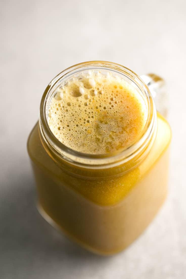 Zumo depurativo - Este zumo depurativo es perfecto para tomarlo en ayunas cuando nos levantamos con el estómago pesado, estamos hinchados o hemos comido demasiado.